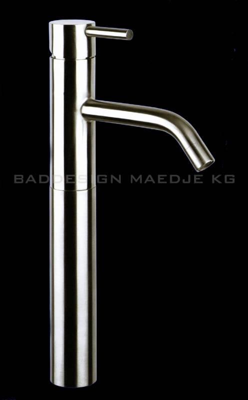 designer edelstahl hoch waschtisch armatur m8 ebay. Black Bedroom Furniture Sets. Home Design Ideas