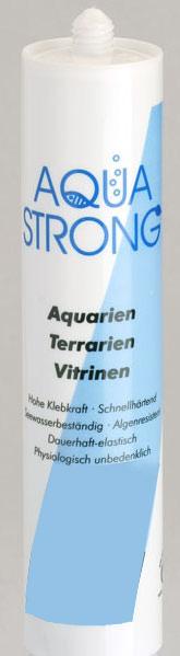 310ml Silikon schwarz Kartusche f. Aquarium Terrarium