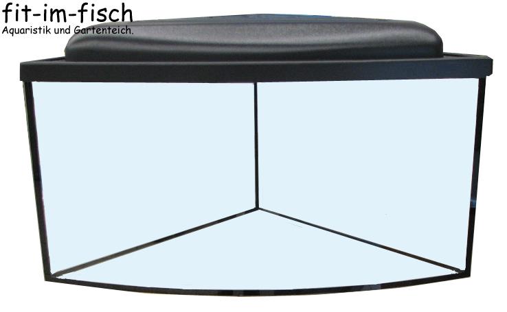 95 l eck aquarium set 57x40 becken abdeckung ebay. Black Bedroom Furniture Sets. Home Design Ideas