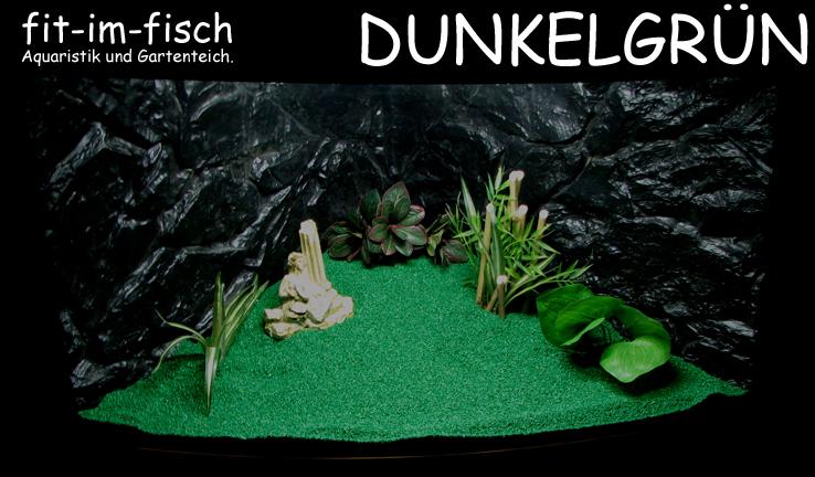 5kg FIF-GROUND Dunkelgrün Aquarium Bodengrund Kies