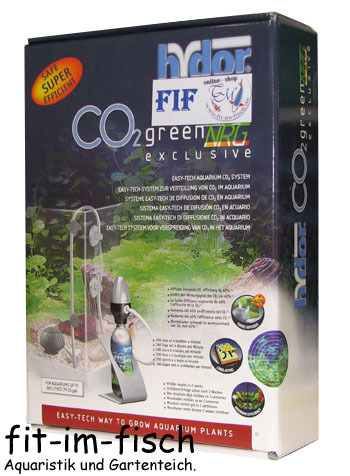 Hydor CO2 green NRG exclusive SET bis 300 Liter