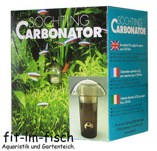 Söchting Carbonator CO2 für Aquarien bis 250 Liter