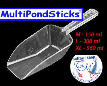 MultiPondSticks Futterschaufel L - 300 ml
