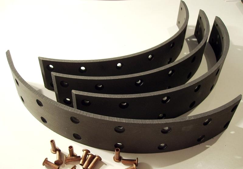 bremsbelag f r holder 265005 oldtimer kuepper. Black Bedroom Furniture Sets. Home Design Ideas