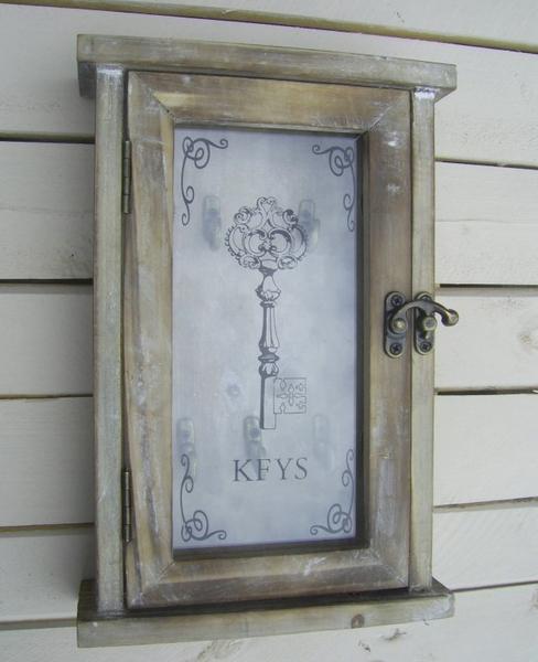 schl sselkasten schl sselschrank keys antik landhausstil wohndeko holz neu ebay. Black Bedroom Furniture Sets. Home Design Ideas