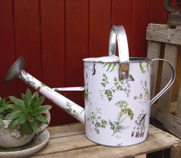 gießkanne gartenkrÄuter kanne garten metall kanne nostalgie, Garten Ideen