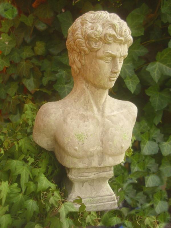 Gebrauchte Gartenmobel In Nurnberg :  STATUE MANN FIGURE ROMAN GREEK ANTIQUE COUNTRY STYLE TERRACOTTA  eBay