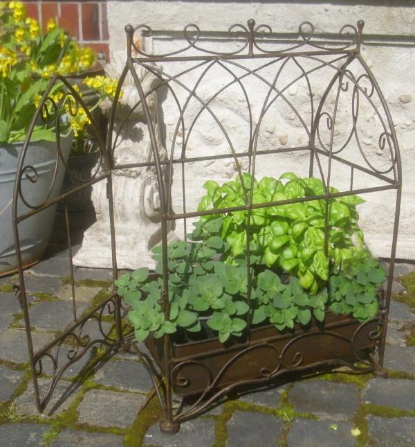 Orangerie dekok fig pflanzk fig antik landhausstil pflanzkiste gartendeko neu ebay - Spiegel orangerie ...