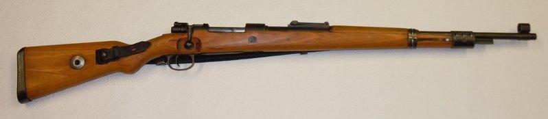 Repetierb chse karabiner mauser k98 im svwmb for K98 riemen anbringen