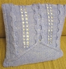 """Lavendel"" Pillow - Yarn Kit"