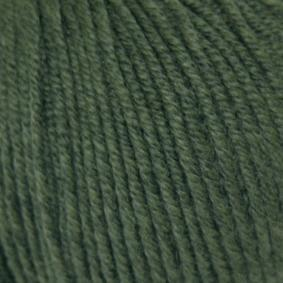 Wool Cotton Fb. 907 - Deepest Olive