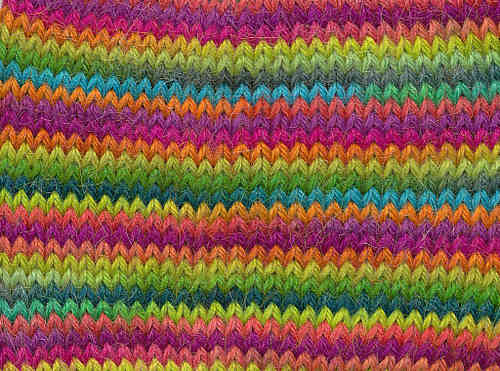 Handpaint Sock Fb. 56 Edible Brights, Misti Alpaca