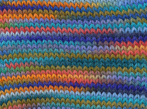 Handpaint Sock Fb. 57 Polar Sunset, Misti Alpaca