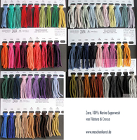 Zara (100% Merino extrafine superwash, 125m/50g, Nadelstärke: 3,5-4)