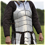 "cuirass with back ""Champion"" with short tasset polished"