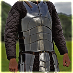 "cuirass with back ""Champion"" with short tasset blackened"