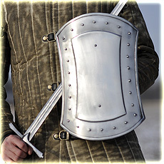 buckler shield type 3, 40 cm, full contact 1,6 mm