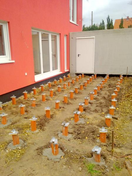 Terrasse Aus Holz Sibirische Larche Generalunternehmen