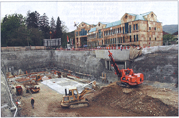 Baugruben Generalunternehmen Baunebenleistungen