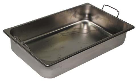 edelstahlbehälter mit griffen und rand, 50x30x10 cm - juwa ... - Edelstahlbehälter Küche