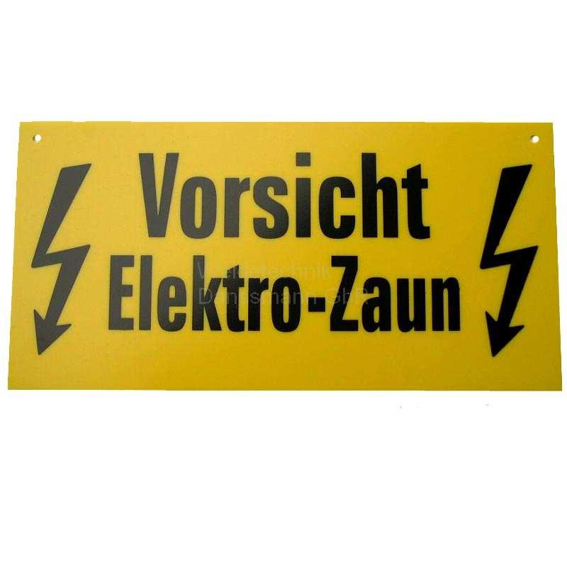 WARNSCHILD-VORSICHT-ELEKTO-ZAUN-WEIDEZAUN-1-STUCK