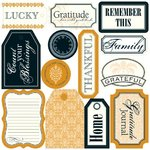"Teresa Collins Giving Thanks: Tags (Die-Cuts) 12""x12"""
