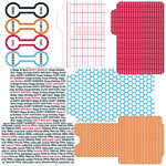 "Teresa Collins Celebrate: Library Envelopes (Die-Cuts) 12""x12"""