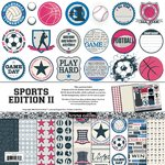 Teresa Collins Sports Edition II : Paper & Accessories Pack