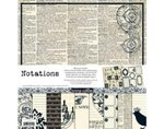 Teresa Collins Notations: Paper & Accessories Pack
