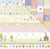 "Little Yellow Bicycle - Tiny Princess: Tiny Princess Bands 12""x12"""