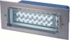 LED wall lights, stainless steel