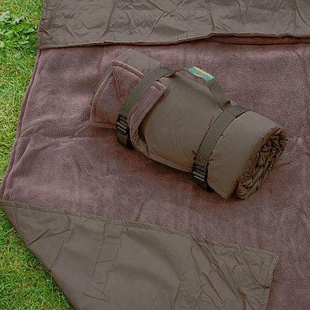 picknickdecke rug roll chocolate fleece dunkelbraun. Black Bedroom Furniture Sets. Home Design Ideas