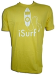Playera Armada ISURF amarillo/yellow