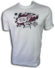 Playera C/R Est. Foil ADDIN blanco/white
