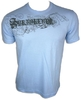 Playera C/R LOGDAN cielo/light blue