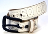 Belt *MORRIS* blanco/white