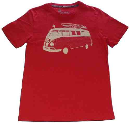 Playera C/R TONYX red