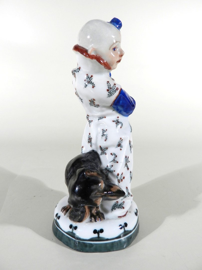 porzellan clown figur design martin wiegand m nchen meissen vor 1910 verkauft les. Black Bedroom Furniture Sets. Home Design Ideas