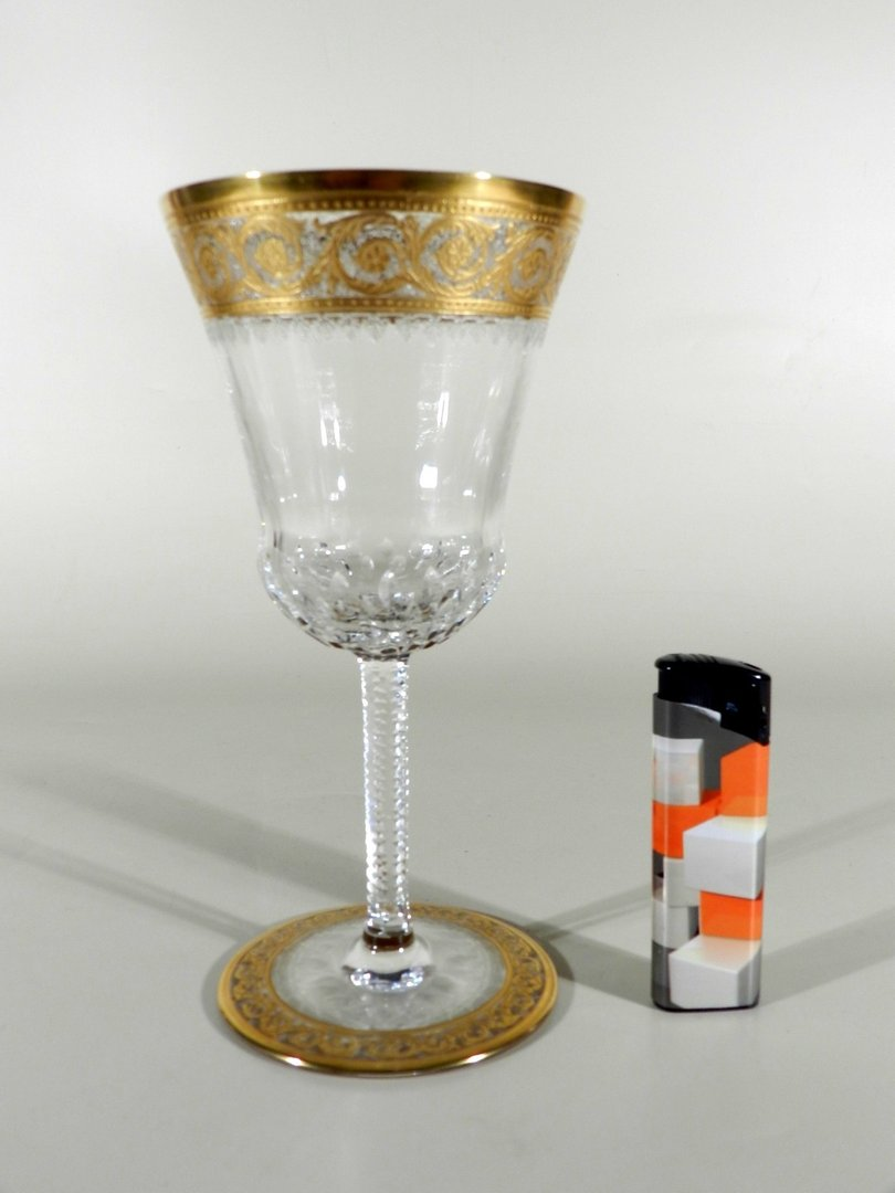 saint louis france wasserglas thistle or. Black Bedroom Furniture Sets. Home Design Ideas