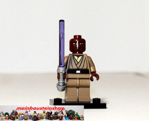 lego star wars minifigur figuren sw220 mace windu m laserschwert 8019 7868 ebay. Black Bedroom Furniture Sets. Home Design Ideas