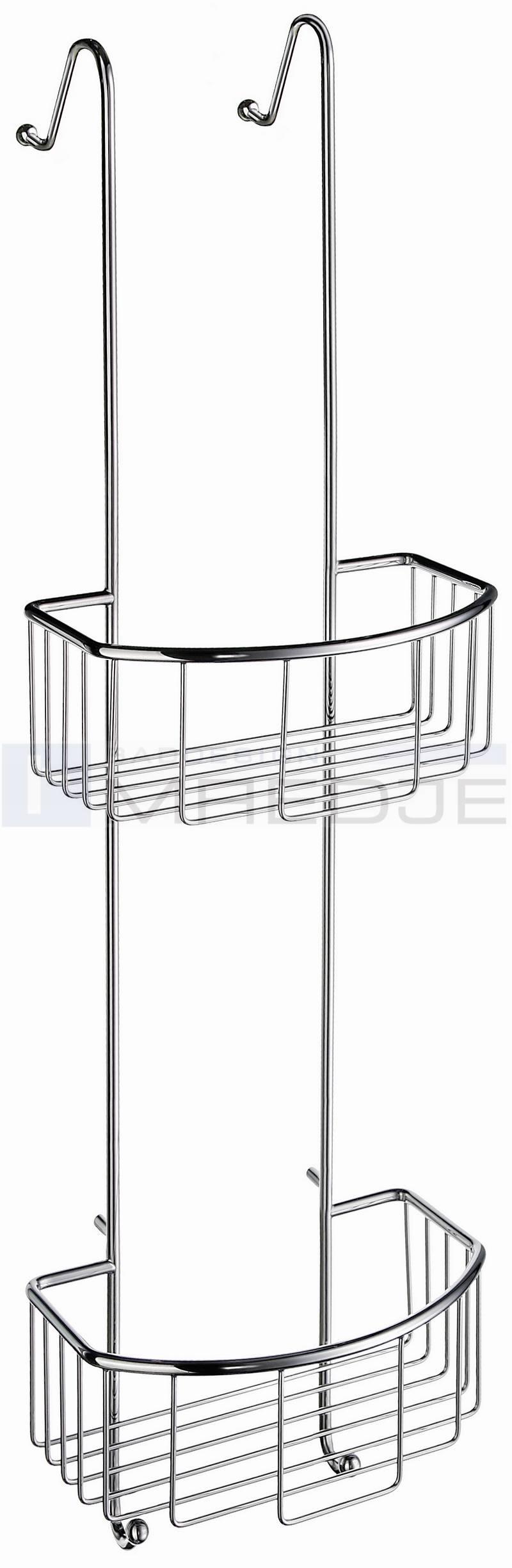 design duschkorb regal korb f r duschabtrennung dusche ebay. Black Bedroom Furniture Sets. Home Design Ideas