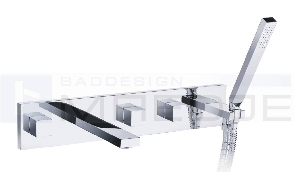 deusenfeld quadro 08 unterputz wannen armatur brause ebay. Black Bedroom Furniture Sets. Home Design Ideas
