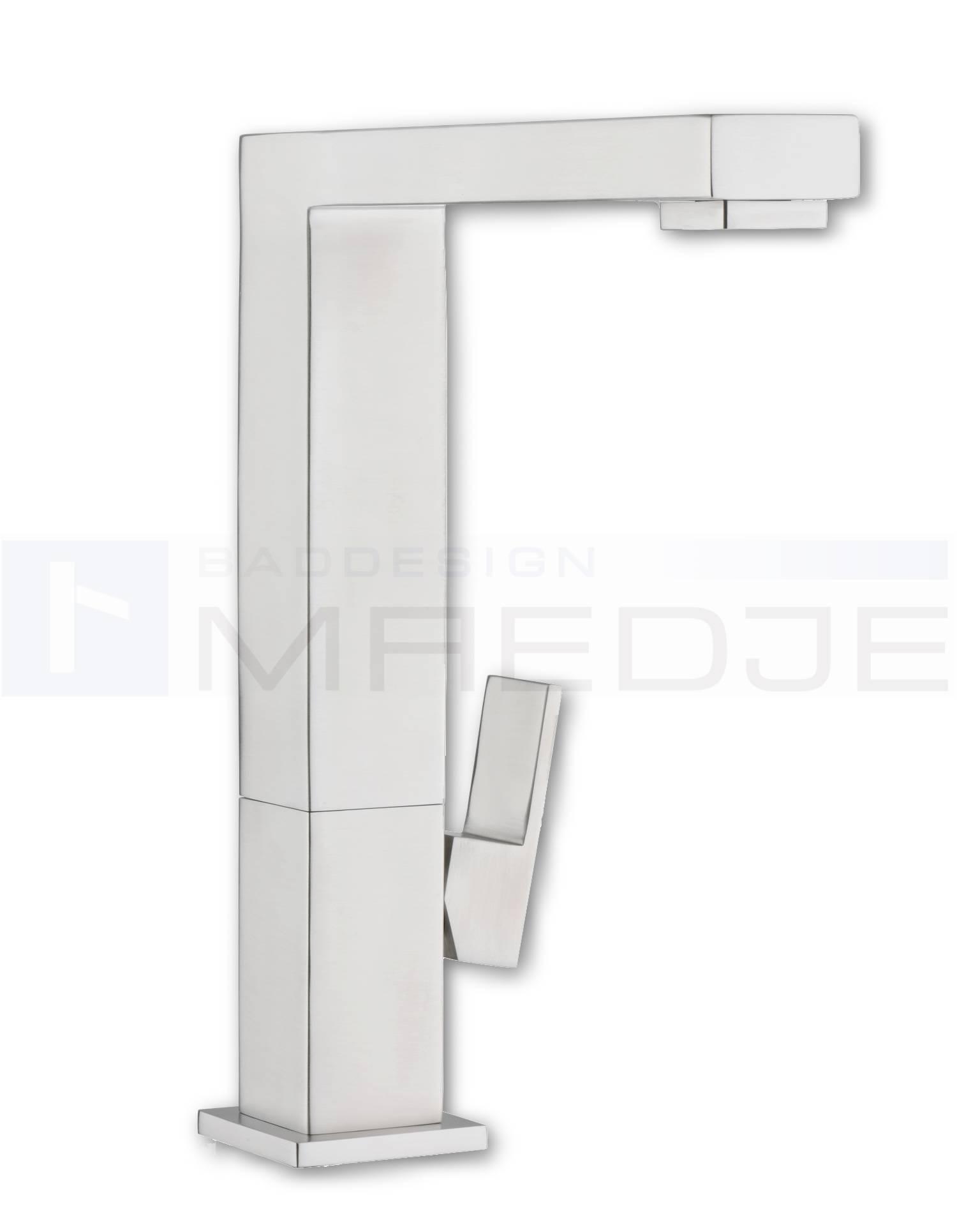 "Design Quadro EDELSTAHL Küchen Armatur ""Q11"" matt"