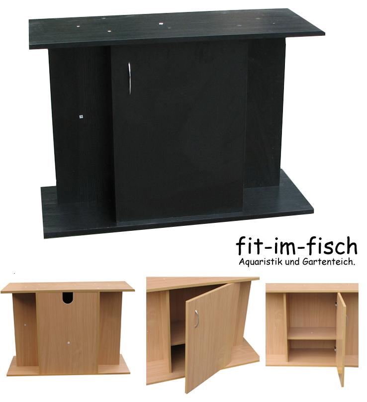 aquarium m bel unterschrank 100x40 schwarz qualit t ebay. Black Bedroom Furniture Sets. Home Design Ideas