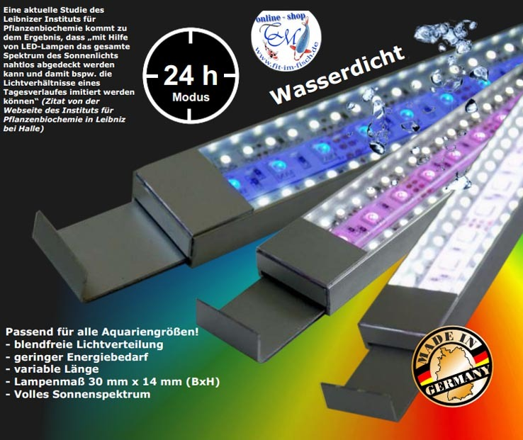 neu stromsparende led aquariumbeleuchtung cool wei 1400 mm leuchtbalken ebay. Black Bedroom Furniture Sets. Home Design Ideas