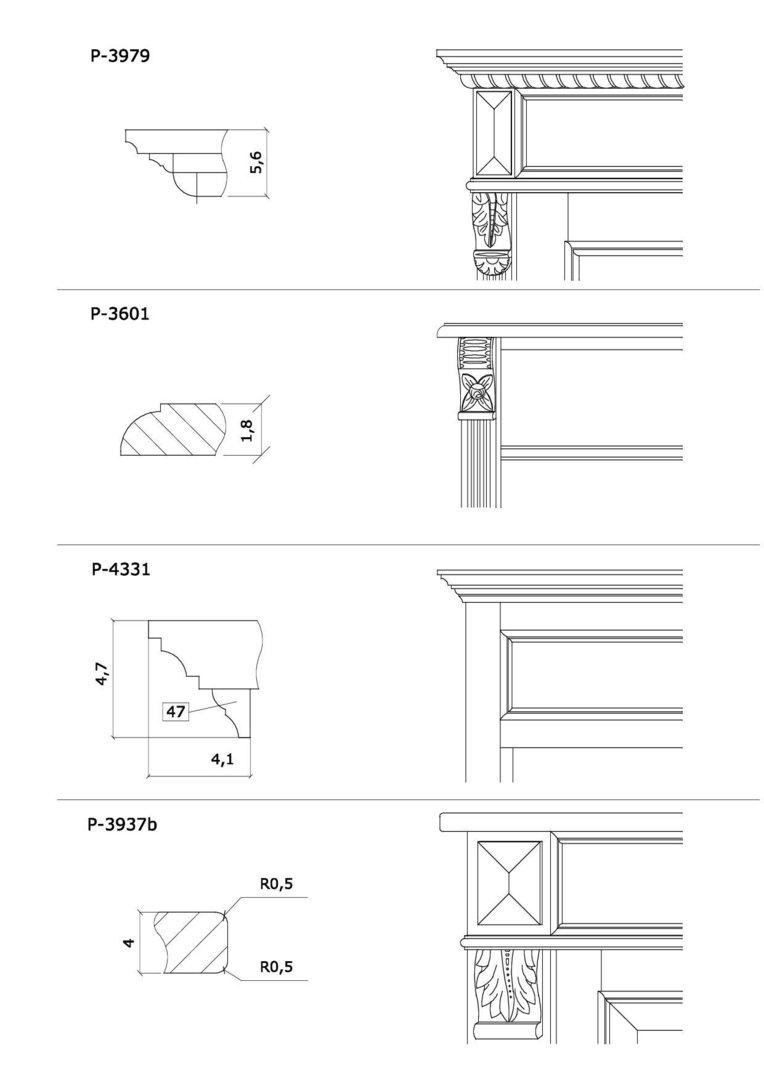 Plattenprofil - 1-