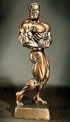 NA 126 Side Chest Arnold 44cm bronze