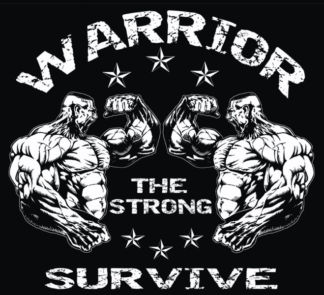 Shirt Warrior the strong Survive USA