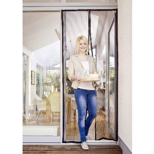 magic mesh insektenschutzvorhang fliegengitter moskito t r magnet vorhang fliege ebay. Black Bedroom Furniture Sets. Home Design Ideas