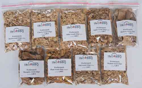 Probierpack Wood Chips Sortiment